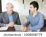 senior business expert... | Shutterstock . vector #1008008779