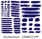 collection of hand drawn dark... | Shutterstock .eps vector #1008015199