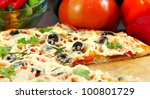 pizza | Shutterstock . vector #100801729