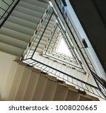 staircase in triangular shape... | Shutterstock . vector #1008020665