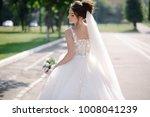 beautiful bride in amazing...   Shutterstock . vector #1008041239