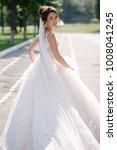 beautiful bride in amazing...   Shutterstock . vector #1008041245