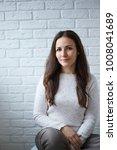 portrait of caucasian young...   Shutterstock . vector #1008041689