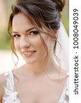 portrait of the beautiful bride ...   Shutterstock . vector #1008049039