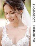portrait of the beautiful bride ...   Shutterstock . vector #1008049045