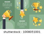 businessman hand holding gold... | Shutterstock .eps vector #1008051001