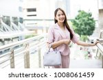 young asian business owner have ...   Shutterstock . vector #1008061459