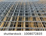 stacked of steel wire mesh for...   Shutterstock . vector #1008072835