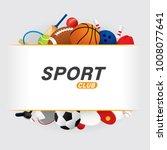 Vector Sport Ball And Equipmen...