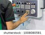 mechanical technician operating ... | Shutterstock . vector #1008080581