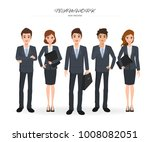business people teamwork with... | Shutterstock .eps vector #1008082051