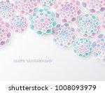 elegant floral background with...   Shutterstock .eps vector #1008093979