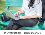 businessperson sitting on the... | Shutterstock . vector #1008101479