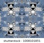ethnic design. striped... | Shutterstock . vector #1008101851