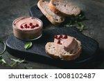 chicken homemade liver paste or ...   Shutterstock . vector #1008102487