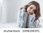 woman indoor portrait. young... | Shutterstock . vector #1008106591