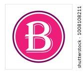 letter b logo design | Shutterstock .eps vector #1008108211