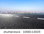 empty road with panoramic...   Shutterstock . vector #1008113035