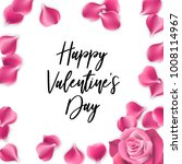 valentine poster. random...   Shutterstock .eps vector #1008114967