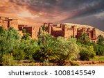 kasbah ait ben haddou in the... | Shutterstock . vector #1008145549