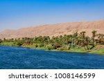 river nile in egypt. life on... | Shutterstock . vector #1008146599