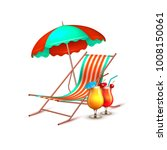 summer vacation  beach party... | Shutterstock .eps vector #1008150061