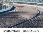 tire marks on road track. motor ...   Shutterstock . vector #1008150679