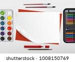 vector illustration of children'... | Shutterstock .eps vector #1008150769