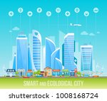 smart and ecological friendly... | Shutterstock .eps vector #1008168724