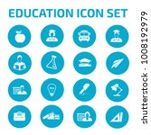 education icon set | Shutterstock .eps vector #1008192979
