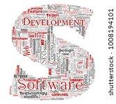 conceptual software development ... | Shutterstock . vector #1008194101