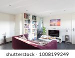 studio apartment interior | Shutterstock . vector #1008199249