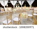 beach wedding venue  wedding...   Shutterstock . vector #1008200971