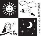 infant visual stimulation... | Shutterstock .eps vector #1008203107