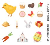 easter is a christian holiday... | Shutterstock .eps vector #1008215449