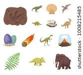 different dinosaurs cartoon... | Shutterstock .eps vector #1008215485