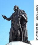 The Bronze Statue Of Louis Xv...