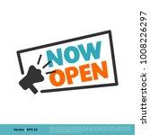 now open letter vector template | Shutterstock .eps vector #1008226297