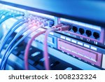 ethernet cable on network... | Shutterstock . vector #1008232324