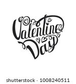 happy valentines day card. b...   Shutterstock . vector #1008240511