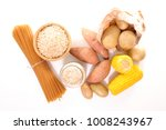 food rich in carbohydrate | Shutterstock . vector #1008243967