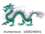 Chinese Dragon. Vector...