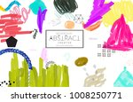 abstract universal art web... | Shutterstock .eps vector #1008250771