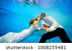 Lovers Man And Woman In Weddin...