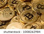 horizontal top view pile of... | Shutterstock . vector #1008262984