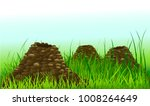 it looks like there is a mole... | Shutterstock .eps vector #1008264649