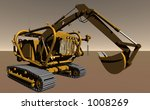 EOS Mars Program Technology: Pressurised Excavator - stock photo