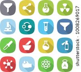 flat vector icon set   funnel... | Shutterstock .eps vector #1008269017