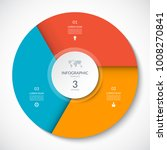 circle chart for infographics.... | Shutterstock .eps vector #1008270841