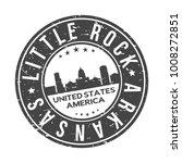 little rock city arkansas usa... | Shutterstock .eps vector #1008272851